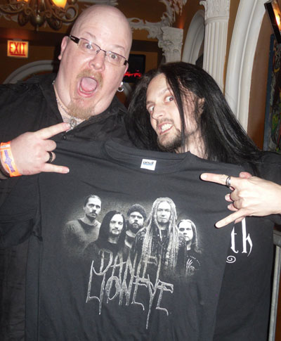 Ghastly Panic on the Daniel Lioneye Tour Shirt