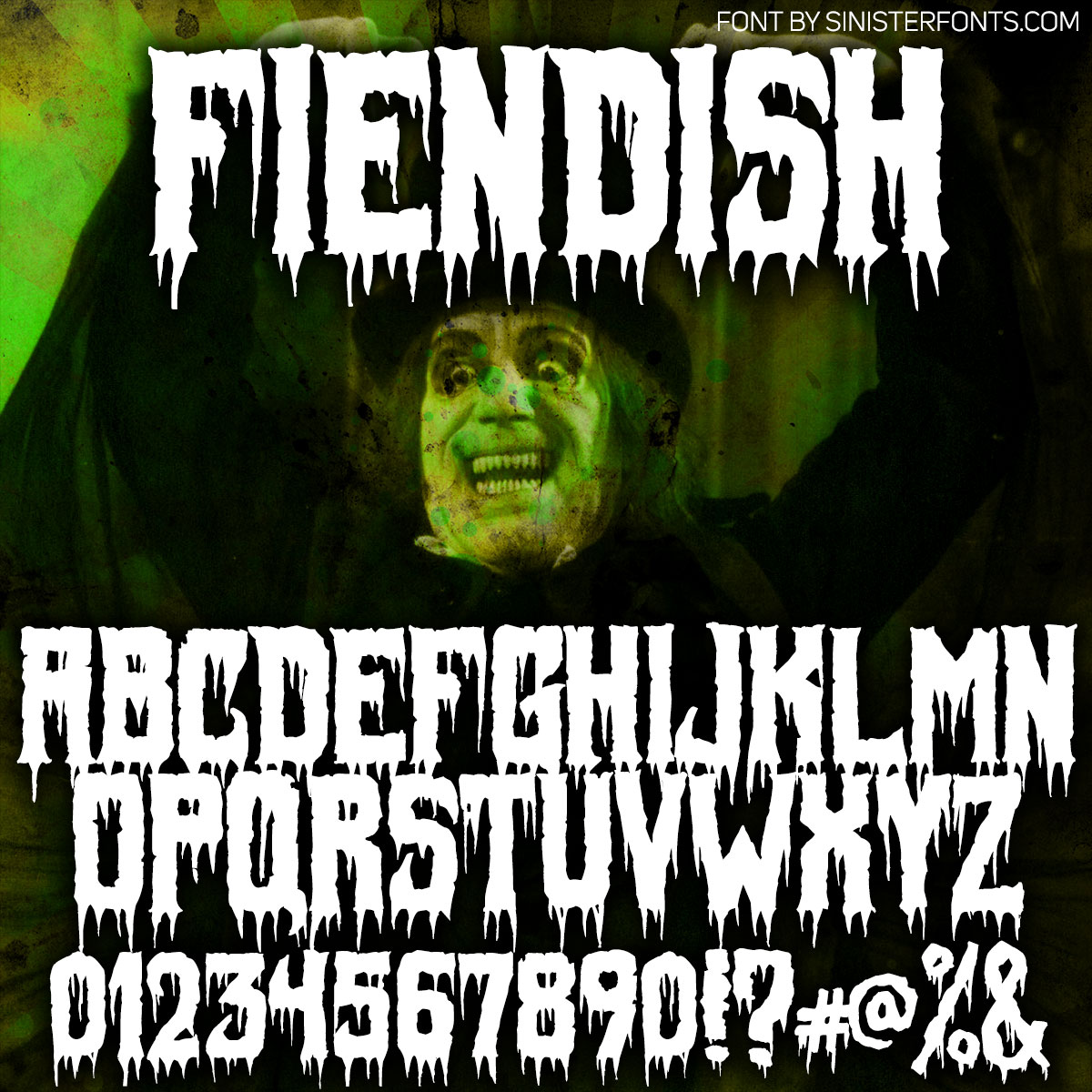Fiendish Font : Click to Download