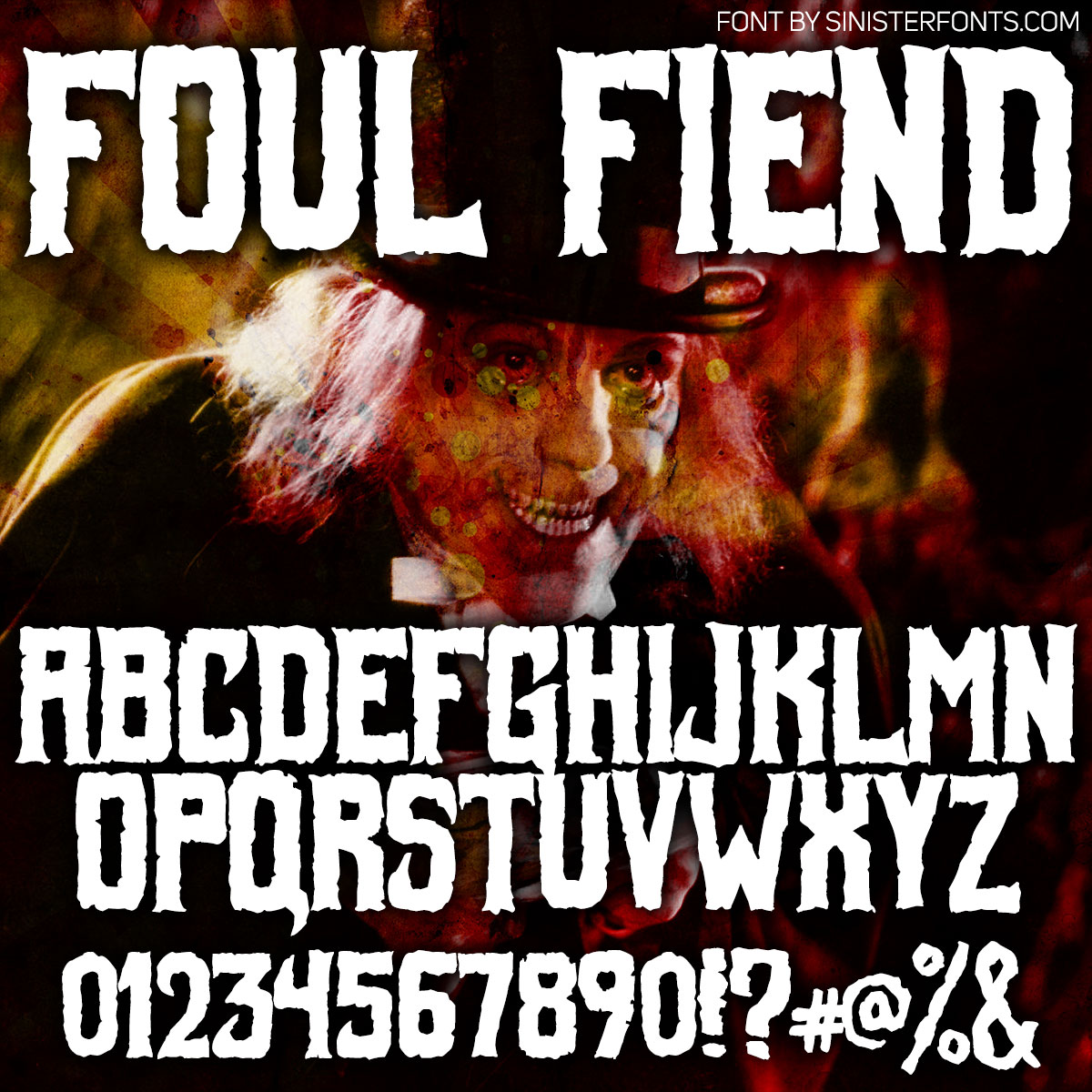 Foul Fiend Font : Click to Download