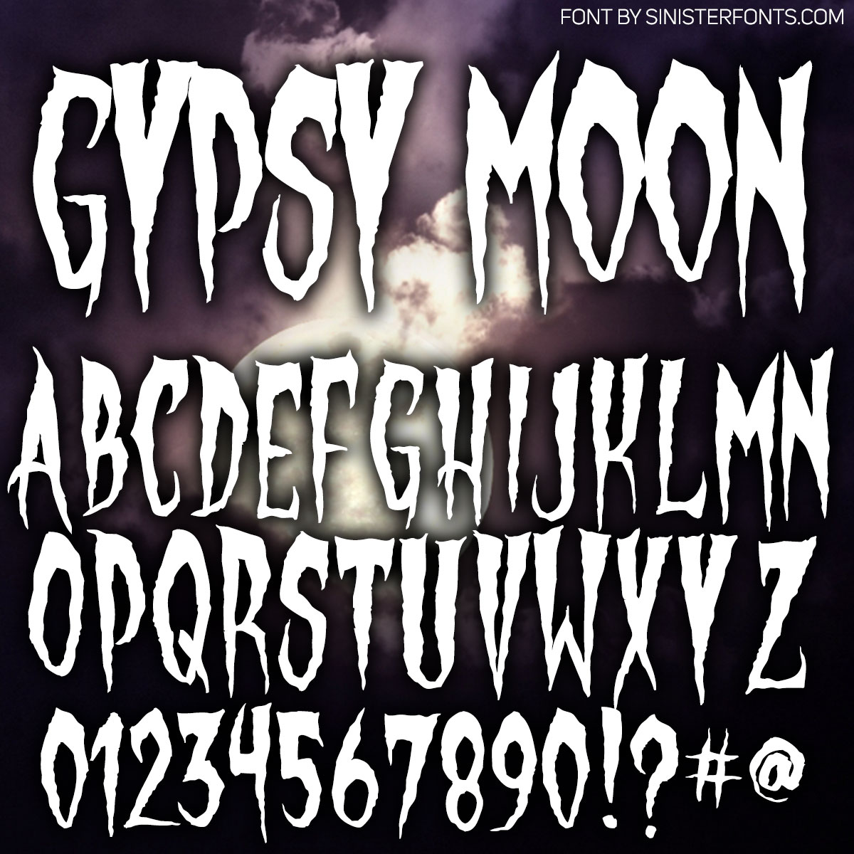 Gypsy Moon Font : Click to Download