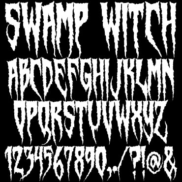 Swamp Witch Font : Click to Download